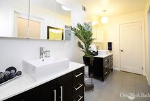 Bathroom Design 131 / Modern bathroom design from southern California remodeler One Week Bath.