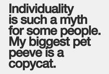 Pet Peeves