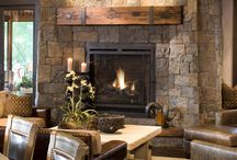 Fireplaces and Firepits / by Melanie Haehl