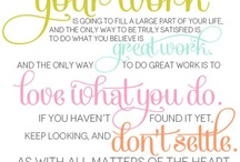 Quotey Quotes / Little quotes on life, love, happiness & faith...I could recreate for design and decor or just reread when needing a pick me up! / by Melissa 'Smith' Howard