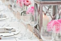 Table Centres  / Novel ideas for creative, attractive table centrepieces