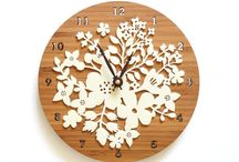 Formal lounge clock / family tree ideas / Formal lounge clock