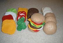 felt food &toys