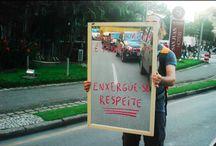 Campanhas educativas no trânsito / Campanhas e ações que tenham como foco o respeito por parte dos motoristas.