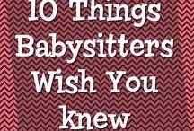 Babysitter / by Allyssa McCarty