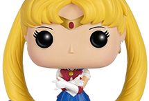 Sailor Moon Funko Pop! Figures / Collection of all the official Funko Pop! Sailor Moon figures. More images and shopping links in the guide: http://www.moonkitty.net/buy-sailor-moon-funko-pop.php