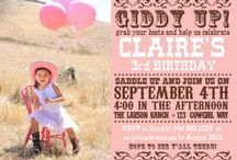 Cowgirl Art Party