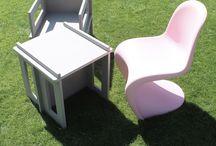 steckmich Kinderstuhl   Kindertisch   Steiger   Hocker   Nachttisch / Möbel zum stecken - einfach wie Lego.