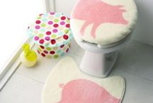 Piggy Bathroom ~ Sink / Toilet + Related
