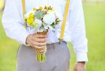 Wesele w kolorze żółtym  ♡ Yellow wedding / Planujecie wesele z przewodnim kolorem żółtym? Mamy nadzieję Was zainspirować... :-)