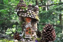 Fairy houses,gardens and stuff ☺