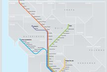 Transit maps / Maps of public transit systems