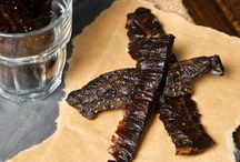 Beef jerky / Marinated beef