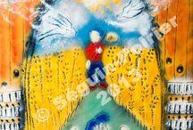 Calendrier 2014 Calendar - Félix Leclerc / Miniature des images des mois du calendrier 2014 sur le thème de Félix Leclerc / Thumbnails of the images of the 2014 calendar on Félix Leclerc.