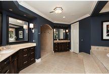 Master bathroom ideas  / by Heather Mergen