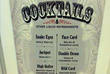 Casino Night Cocktails
