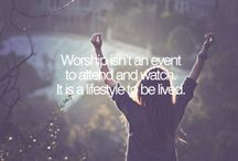 Worship / by Faithful with the little