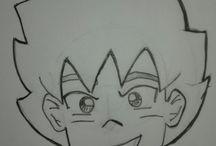Meus desenhos / mangás e cartoons