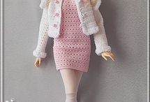 Knitted Barbie