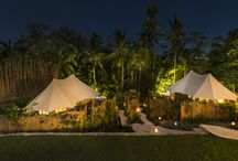 SANDAT GLAMPING - TENTS.  BALI / Where Ecology meets design , far from The world ... deep in The Nature !