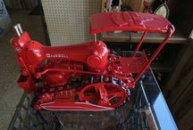 sewing machine tractors