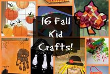 Autumn/fall crafts for kids