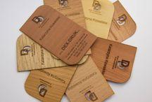 DEX DRUK WOOD BUSINESS CARDS / Elegant Dex Druk Wood Business Cards
