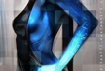 cyberpunk, scifi