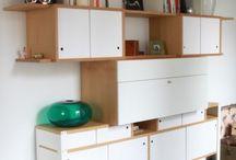+ Rétro Vintage + / La grande tendance du moment, un intérieur vintage et rétro ! Associez des objets au design ancien à des meubles sur-mesure et originaux pour un déco branchée !