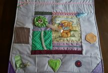 Hand made with love fidget quilts