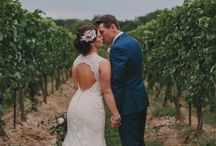 A Lavender Wedding / A pale purple themed wedding.