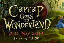 Cap Cap goes to Wonderland / Το Σάββατο 3 Μαΐου στις 15:30 μέχρι την Κυριακή 11/5 ο ποντικός με το γαλάζιο φιόγκο θα μοιραστεί τις εμπειρίες του απο τη χώρα των θαυμάτων!