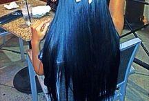 Blue black / Hair