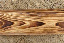 Техника обжига и структурирования древесины