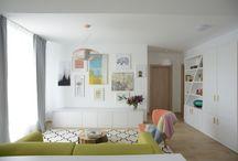Proiect de design interior realizat de Irina Pogonaru pentru THE PARK / Pentru acest proiect de amenajare designerul Irina Pogonaru a pornit de la un aspect esențial al complexului rezidențial THE PARK: o clădire eficientă energetic amplasată în imediata apropiere a Parcului Tineretului.  Irina a realizat astfel o amenjare inspirată de natură cu câteva referințe directe. Irina și-a imaginat că în acest apartament cu două dormitoare va locui o familie formată dintr-un cuplu și un copil cu vârstă cuprinsă între trei și zece ani.