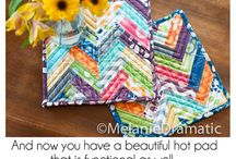Homemade crafts / Pot holders