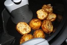 Roasted potatoes in actifry