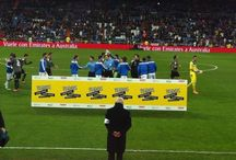 """Los jugadores del Real Madrid con las enfermedades raras / Los jugadores del Real Madrid posaron con nuestro logo durante el partido de Copa del Rey que les enfrentó al Espanyol. De esta forma nos ayudaron a dar visibilidad a las enfermedades raras y colaboraron con """"Todos somos raros, todos somos únicos"""""""