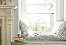 Window Seats / love seat, settee, booth, sunny, reading nook, view, look out