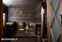 Sauna, bath, spa ideat