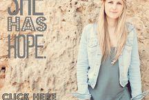 {Feb} She Has Hope