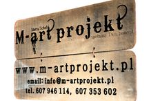 m-artprojekt.pl / beautiful things from wood and not only...