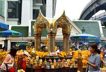 Temples of Bangkok / Bangkok is known for its beautiful temples and shrines.