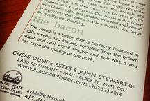 {client focus} black pig meat co. / black pig meat co. is the brainchild of chefs duskie estes and john stewart from zazu kitchen + farm