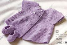Trict - Knit - Πλέξιμο bébé, layette, babies, μωρά