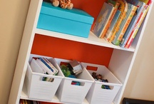 Bookshelf Makeovers / by Kimberly Gorman