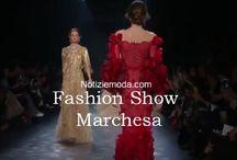 Marchesa / Marchesa collezione e catalogo primavera estate e autunno inverno abiti abbigliamento accessori scarpe borse sfilata donna.