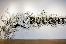 Murals b&w