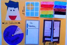 Vocabulario de español para niños / Cuaderno interactivo para trabajar diferentes campos semánticos del español en Primaria. Más ideas e inspiración en: https://www.pinterest.com/anaprofeesp/vocabulario-interactivo/