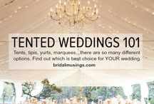 Marquee wedding guides